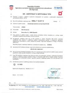 Certifikat - EX-Agencija Zaust pl